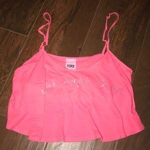 PINK Victoria's Secret summer crop top